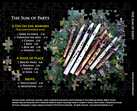 The Sum of Parts back cover
