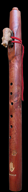 Eastern Red Cedar Native American style flute